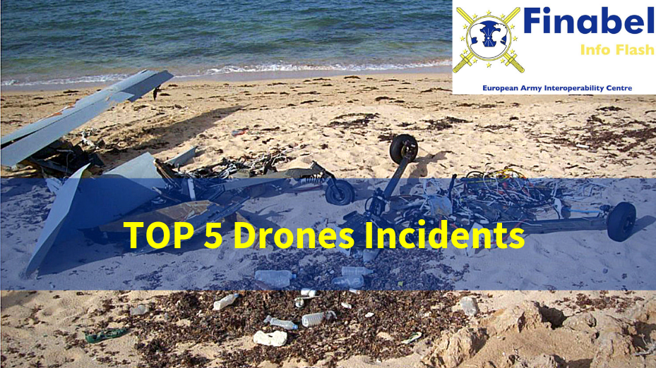 Top 5 Drones Incidents