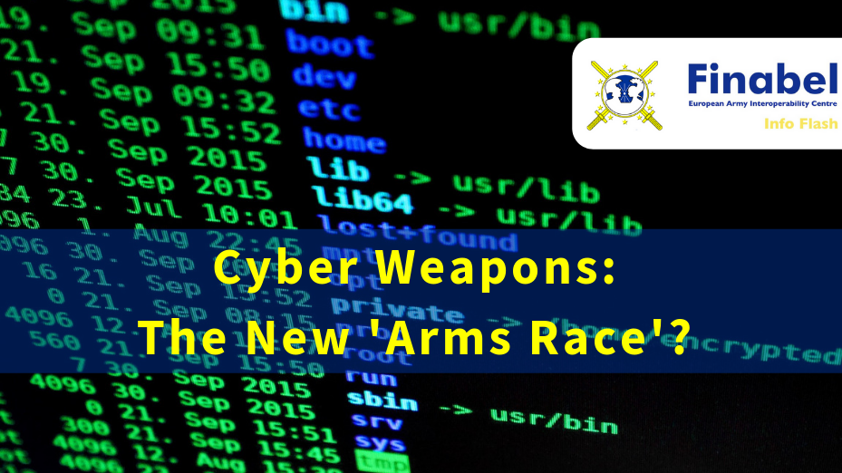 Cyber Weapons: The New 'Arms Race'?