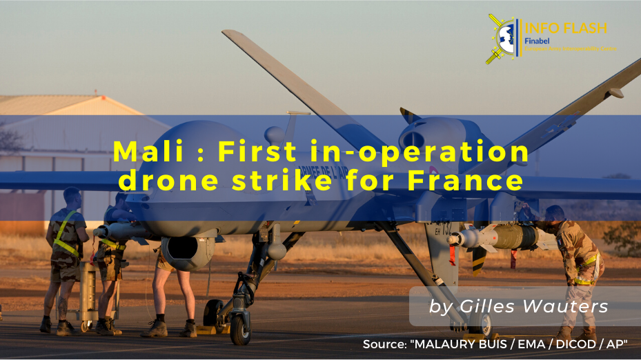Mali : First in-operation drone  strike for France