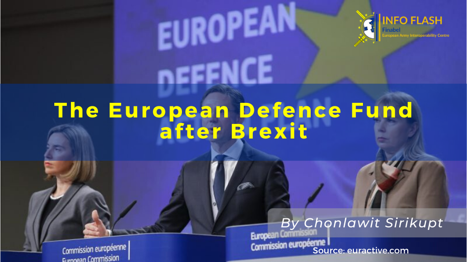 The European Defence Fund after Brexit