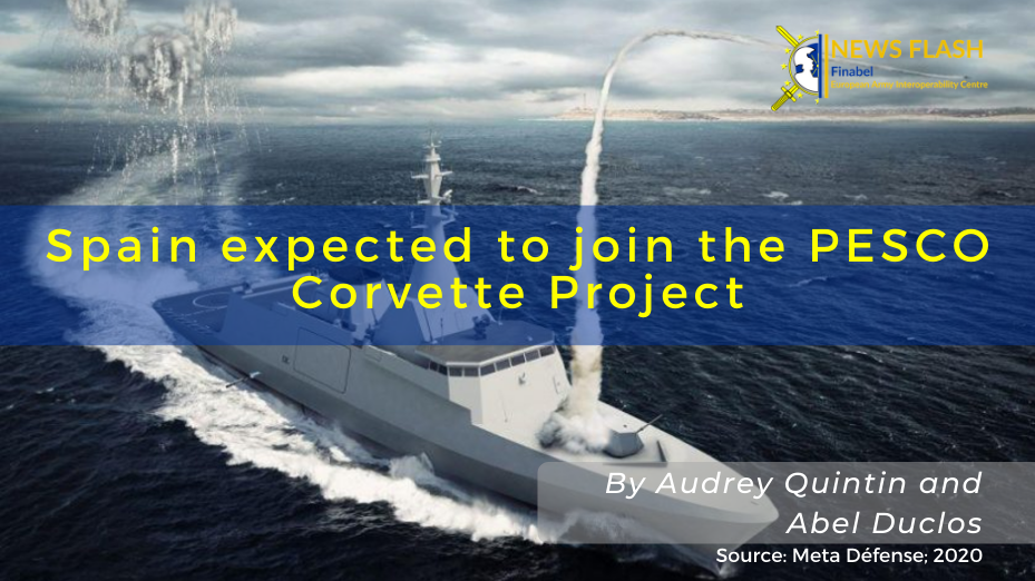 Spain expected to join the PESCO Corvette Project