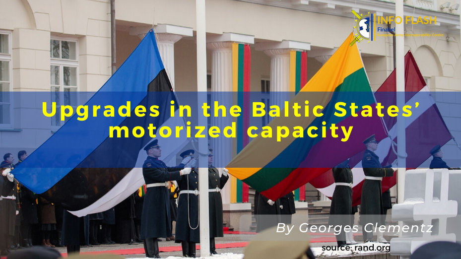 Upgrades in the Baltic States' motorized capacity