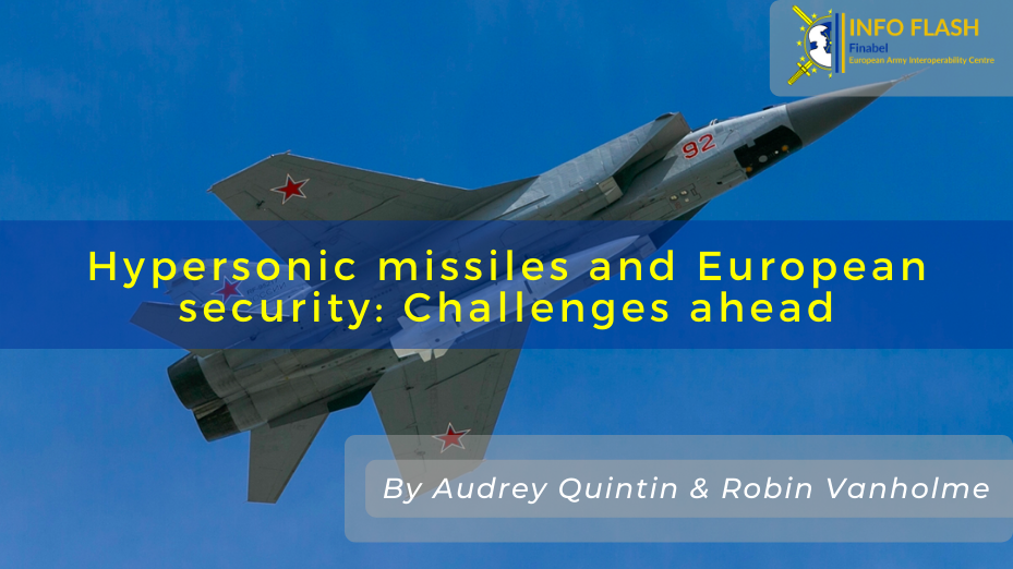 Hypersonic missiles and European security: Challenges ahead