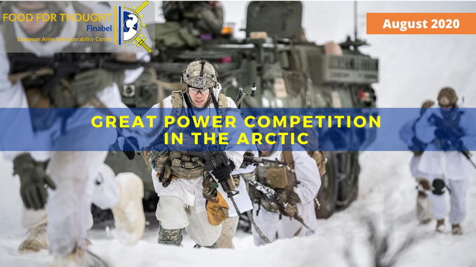 GREAT POWER COMPETITION IN THE ARCTIC