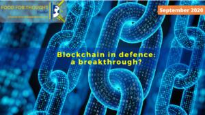 Blockchain in defence: a breakthrough?